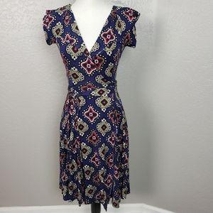 Diane Von Furstenberg Silk Wrap Dress Size 4